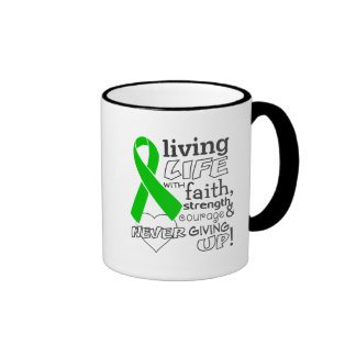 Bile Duct Cancer Living Life With Faith Mugs