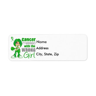 Bile Duct Cancer Messed With Wrong Girl Return Address Label