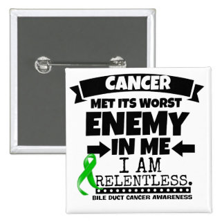 Bile Duct Cancer Met Its Worst Enemy in Me Button