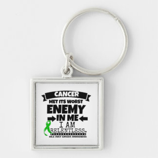 Bile Duct Cancer Met Its Worst Enemy in Me Keychain