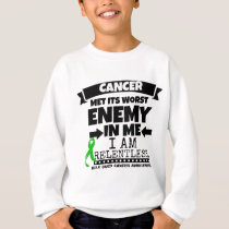 Bile Duct Cancer Met Its Worst Enemy in Me Sweatshirt