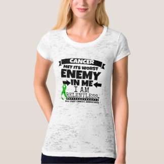 Bile Duct Cancer Met Its Worst Enemy in Me T Shirt