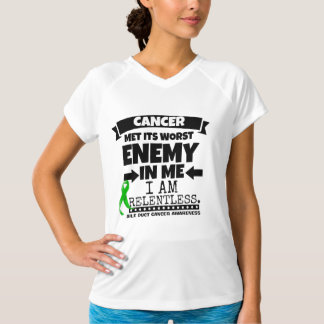 Bile Duct Cancer Met Its Worst Enemy in Me Tee Shirt
