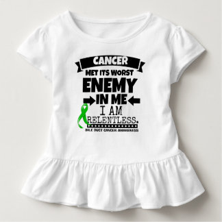 Bile Duct Cancer Met Its Worst Enemy in Me Toddler T-shirt