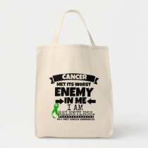 Bile Duct Cancer Met Its Worst Enemy in Me Tote Bag