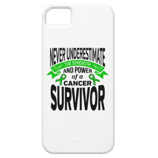 Bile Duct Cancer Never Underestimate Strength iPhone 5 Covers