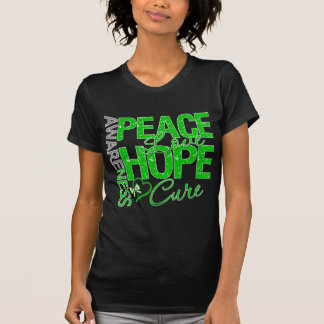 Bile Duct Cancer Peace Love Cure Tshirt