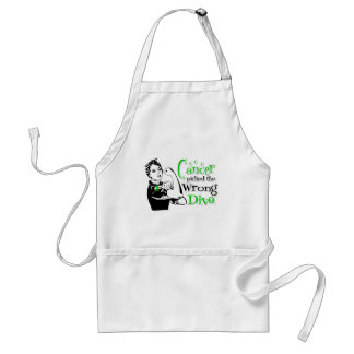 Bile Duct Cancer Picked The Wrong Diva Adult Apron