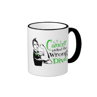 Bile Duct Cancer Picked The Wrong Diva Coffee Mug