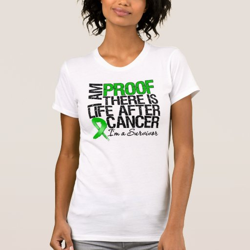 Bile Duct Cancer Proof There is Life After Cancer Tee Shirts
