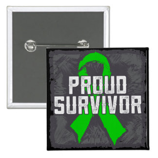 Bile Duct Cancer Proud Survivor Buttons