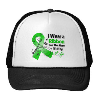 Bile Duct Cancer Ribbon Hero in My Life Trucker Hat