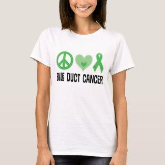 Bile Duct Cancer Ribbon Ladies T-shirt