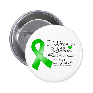 Bile Duct Cancer Ribbon Someone I Love Button