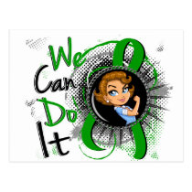 Bile Duct Cancer Rosie Cartoon WCDI Postcard