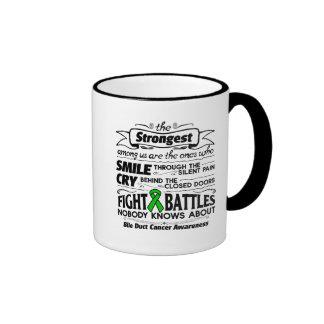 Bile Duct Cancer Strongest Among Us Ringer Mug