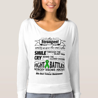 Bile Duct Cancer Strongest Among Us Shirt