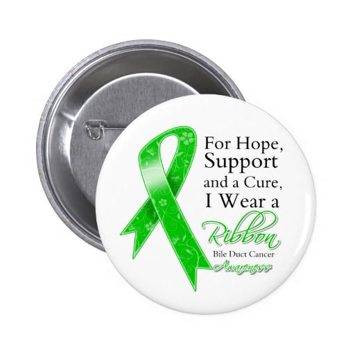 Bile Duct Cancer Support Hope Awareness Pin