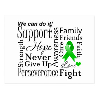 Bile Duct Cancer Supportive Words Postcard