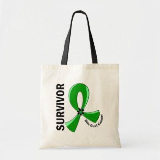 Bile Duct Cancer Survivor 12 Tote Bags