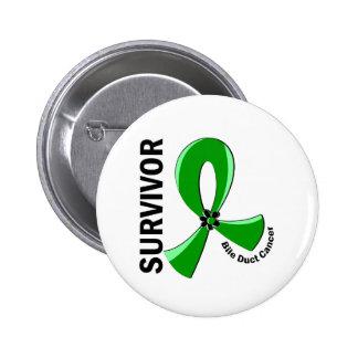 Bile Duct Cancer Survivor 12 Pinback Button
