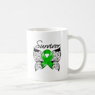 Bile Duct Cancer Survivor Butterfly Mug