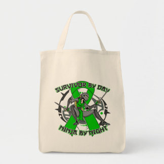 Bile Duct Cancer Survivor By Day Ninja By Night Tote Bag