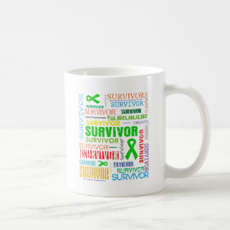 Bile Duct Cancer Survivor Collage.png Coffee Mugs