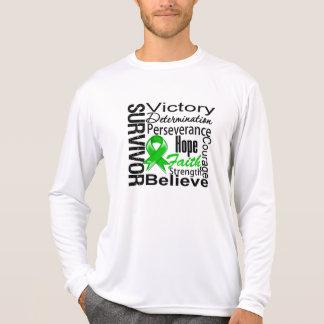 Bile Duct Cancer  Survivor Collage Tee Shirt