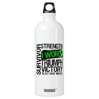 Bile Duct Cancer Survivor I Won SIGG Traveler 1.0L Water Bottle