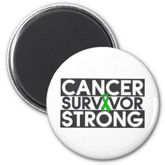 Bile Duct Cancer Survivor Strong Fridge Magnets