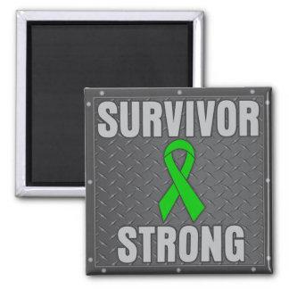 Bile Duct Cancer Survivor Strong Refrigerator Magnet