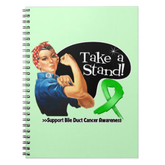 Bile Duct Cancer Take a Stand Note Book