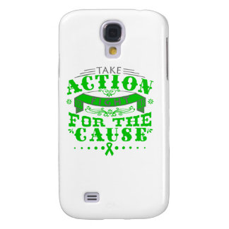 Bile Duct Cancer Take Action Fight For The Cause Samsung Galaxy S4 Cases