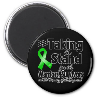 Bile Duct Cancer Taking a Stand Tribute Refrigerator Magnet