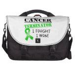 Bile Duct Cancer Terminator Laptop Computer Bag