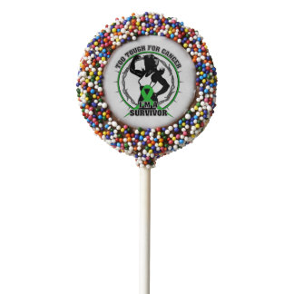 Bile Duct Cancer Too Tough For Cancer Chocolate Covered Oreo Pop