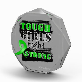 Bile Duct Cancer Tough Girls Fight Strong Acrylic Award