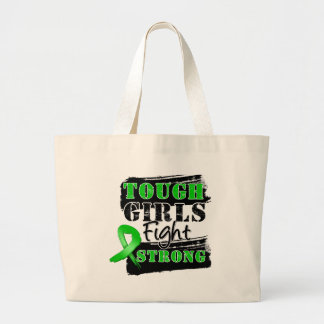 Bile Duct Cancer Tough Girls Fight Strong Canvas Bags
