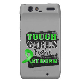 Bile Duct Cancer Tough Girls Fight Strong Motorola Droid RAZR Covers
