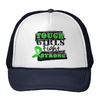 Bile Duct Cancer Tough Girls Fight Strong Trucker Hat
