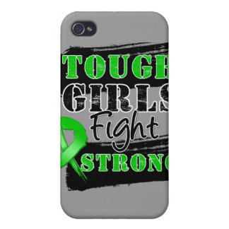 Bile Duct Cancer Tough Girls Fight Strong iPhone 4/4S Cover