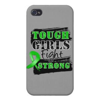 Bile Duct Cancer Tough Girls Fight Strong iPhone 4/4S Covers