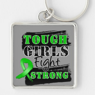 Bile Duct Cancer Tough Girls Fight Strong Key Chains