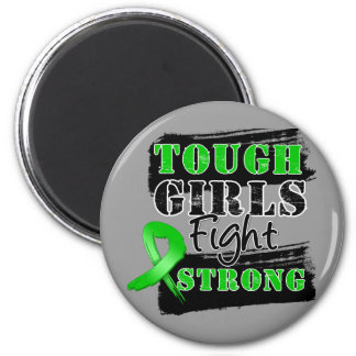 Bile Duct Cancer Tough Girls Fight Strong Fridge Magnets