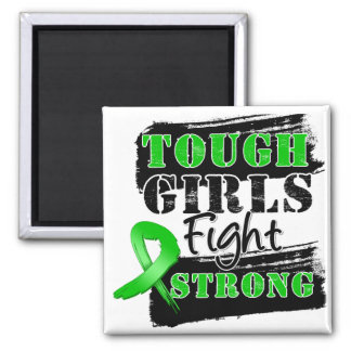 Bile Duct Cancer Tough Girls Fight Strong Refrigerator Magnets