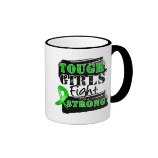 Bile Duct Cancer Tough Girls Fight Strong Coffee Mug