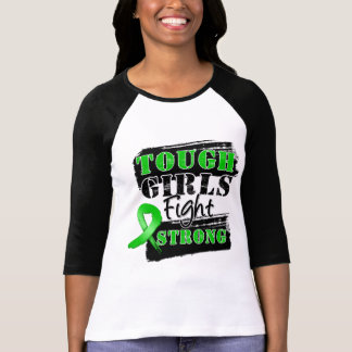 Bile Duct Cancer Tough Girls Fight Strong Tee Shirts