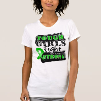 Bile Duct Cancer Tough Girls Fight Strong Tee Shirt