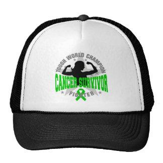 Bile Duct Cancer Tough Survivor Trucker Hats